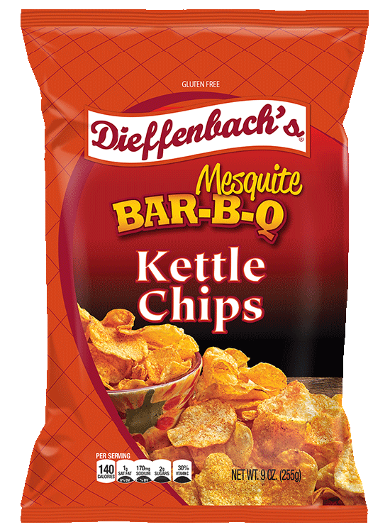 Dieffenbach's® Mesquite Bar-B-Q Kettle Chips