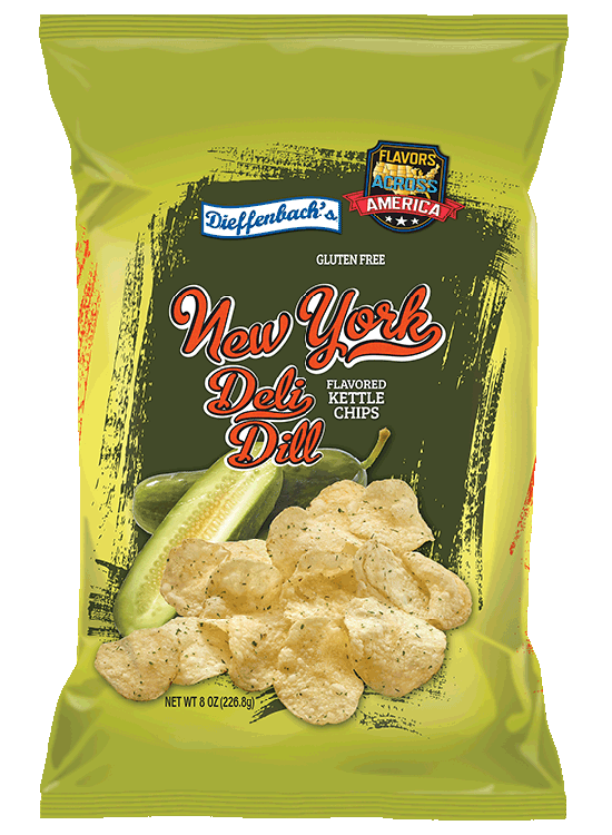 Dieffenbach's® New York Deli Dill Kettle Chips
