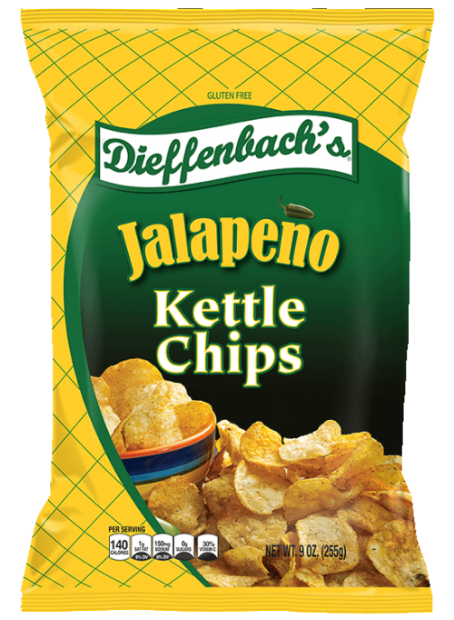 Dieffenbach's® Jalapeño Kettle Chips