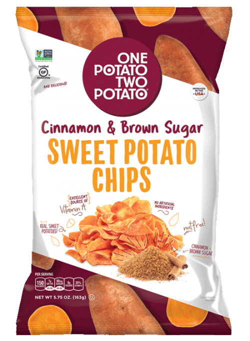 One Potato Two Potato® Cinnamon & Brown Sugar Sweet Potato Chips