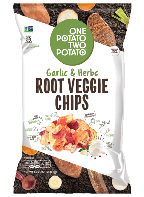One Potato Two Potato® Garlic & Herbs Root Veggie Chips