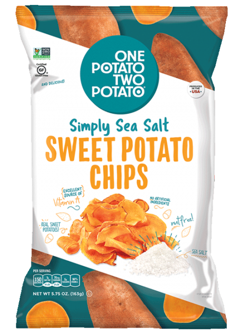 One Potato Two Potato® Simply Sea Salt Sweet Potato Chips