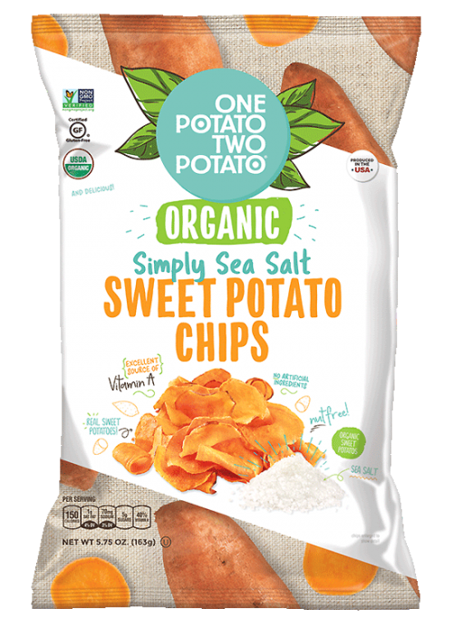 One Potato Two Potato® Organic Simply Sea Salt Sweet Potato Chips