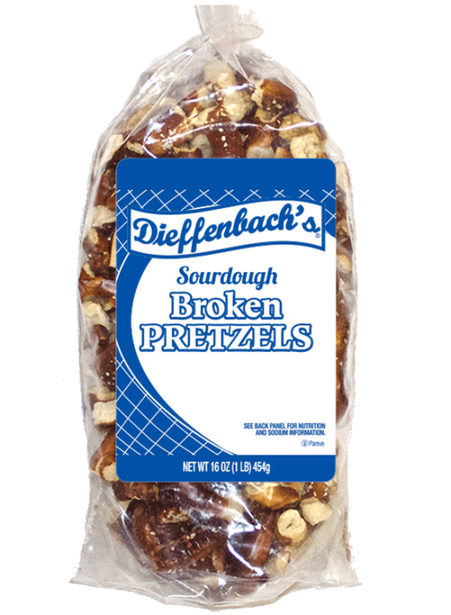 Dieffenbach's® Sourdough Broken Pretzels