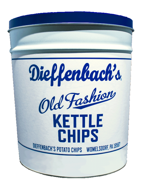 Dieffenbach's® Classic Kettle Chips Tin