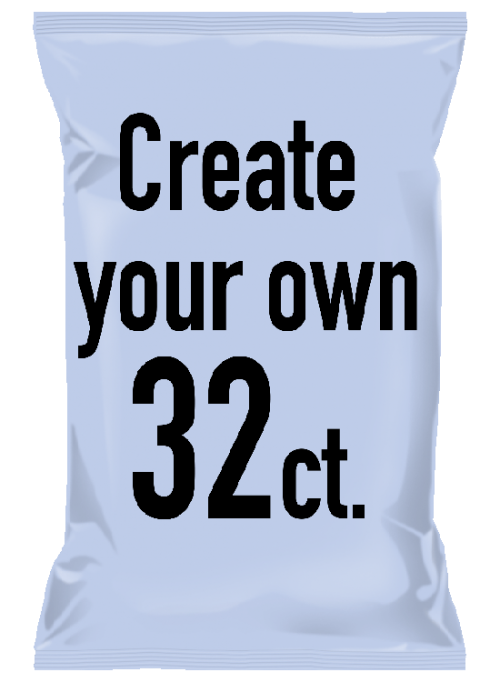 Create Your Own – Select 32 – 1oz Uglies single-serve bags